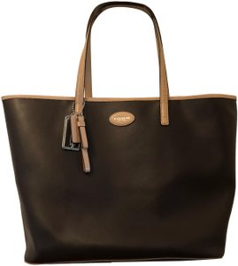Coach Tote in Chocolate Brown