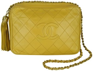 Chanel Quilted Vintage Tassel Zipper Strap Shoulder Bag