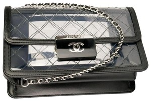 Chanel Naked Pvc Clear Cross Body Bag
