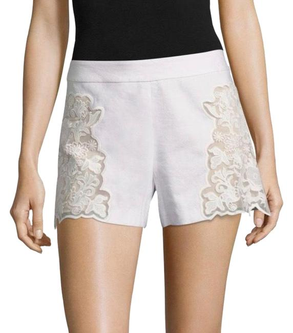 Preload https://item4.tradesy.com/images/alice-olivia-white-lace-embroidered-dress-shorts-size-2-xs-26-23007223-0-1.jpg?width=400&height=650