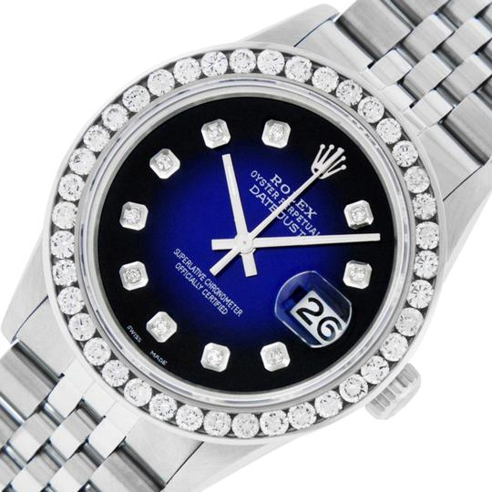 Preload https://img-static.tradesy.com/item/23007236/rolex-blue-vignette-mens-datejust-and-18k-gold-310-ct-diamond-watch-0-1-540-540.jpg