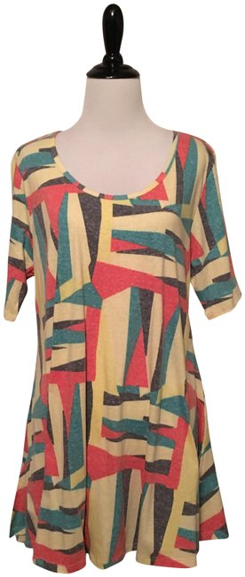 Preload https://item3.tradesy.com/images/lularoe-pastel-perfect-t-blouse-size-12-l-23007347-0-1.jpg?width=400&height=650