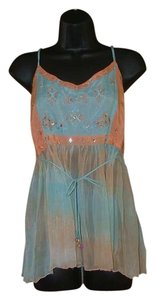 Etcetera Artsy Eclectic Top Creamsicle