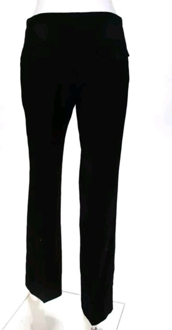 Antonio fusco Wool Wool Dress Trouser Pants Black