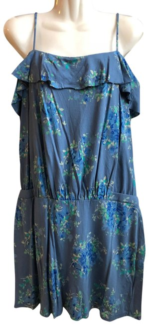 Preload https://item5.tradesy.com/images/juicy-couture-blue-huckleberry-tea-rose-knit-sundress-short-casual-dress-size-10-m-23007384-0-1.jpg?width=400&height=650