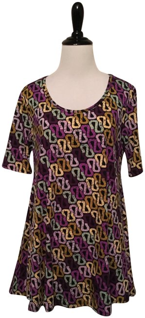 Preload https://item3.tradesy.com/images/lularoe-multicolor-perfect-t-blouse-size-4-s-23007417-0-1.jpg?width=400&height=650