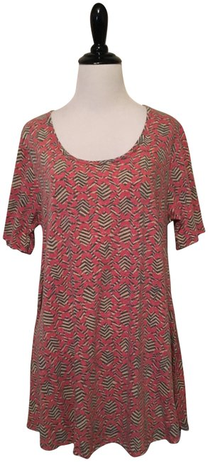 Preload https://item4.tradesy.com/images/lularoe-pink-perfect-t-blouse-size-4-s-23007448-0-1.jpg?width=400&height=650