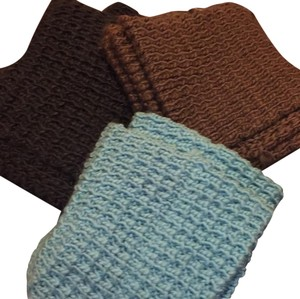 Old Navy Chunky Waffle Infinity Scarves - Set of 3