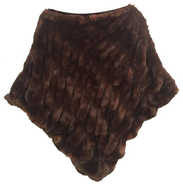 Preload https://img-static.tradesy.com/item/23007484/fabulous-furs-brown-ponchocape-size-os-one-size-0-1-650-650.jpg