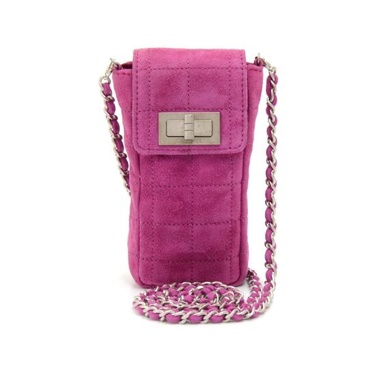 Preload https://item4.tradesy.com/images/chanel-fuchsia-quilted-mini-chain-purple-suede-leather-cross-body-bag-23007533-0-0.jpg?width=440&height=440
