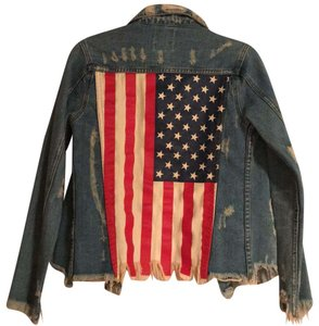 UNIF Denim Womens Jean Jacket