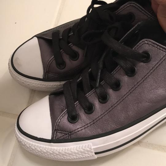 Converse All Stars Metallic Chuck Taylors Grey Athletic