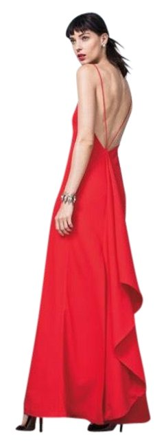 Preload https://img-static.tradesy.com/item/23007594/jill-jill-stuart-poppy-red-ruffle-back-column-gown-long-formal-dress-size-10-m-0-1-650-650.jpg