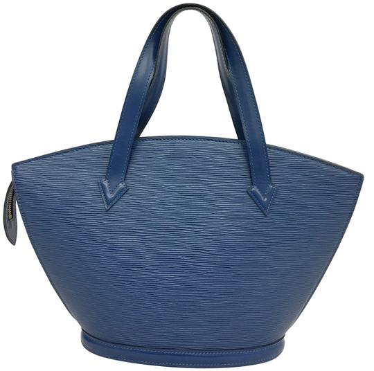 Preload https://item4.tradesy.com/images/louis-vuitton-saint-jacques-leather-blue-epi-tote-23007598-0-2.jpg?width=440&height=440