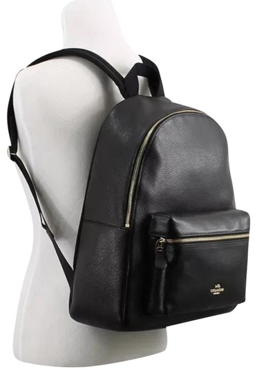 Preload https://item5.tradesy.com/images/coach-charley-pebble-black-leather-backpack-23007614-0-1.jpg?width=440&height=440