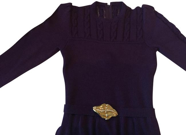 Preload https://item3.tradesy.com/images/st-john-purple-for-lord-and-taylor-vintage-see-tag-mid-length-cocktail-dress-size-2-xs-23007622-0-1.jpg?width=400&height=650
