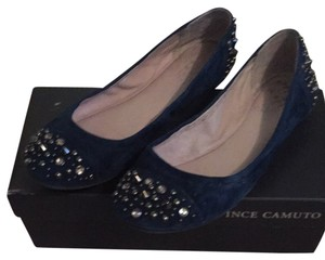 Vince Camuto Navy Flats