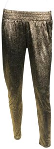 Sam & Lavi Polyester Metallic Trouser Pants