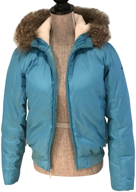 Preload https://img-static.tradesy.com/item/23007903/ralph-lauren-turquoise-detachable-fur-hooded-jacket-coat-size-6-s-0-2-650-650.jpg