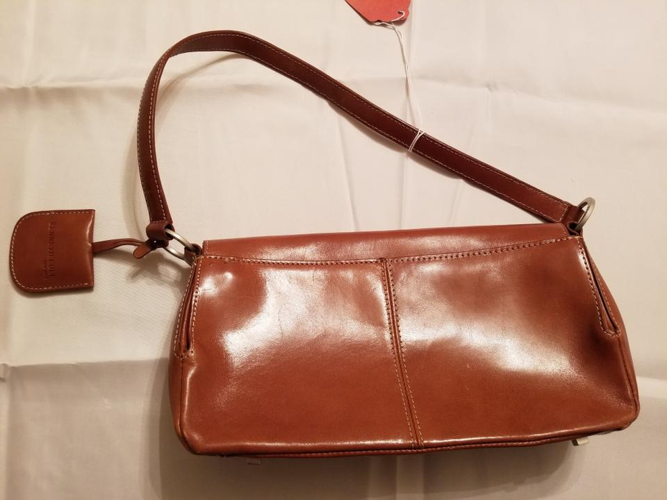 Kenneth Cole Leather Shoulder Bag 123