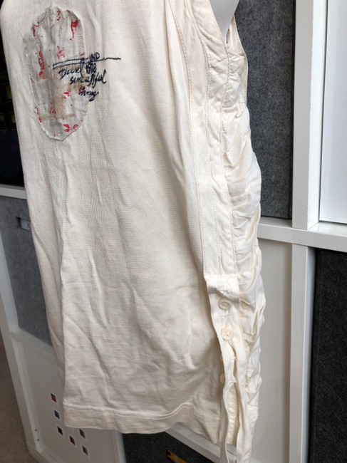 Diesel Sexy Hot Night Out Prints Top ivory