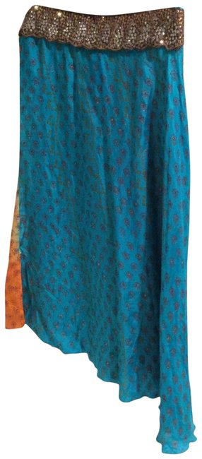 Preload https://img-static.tradesy.com/item/23008028/anthropologie-blue-and-orange-lisa-z-midi-skirt-size-12-l-32-33-0-1-650-650.jpg