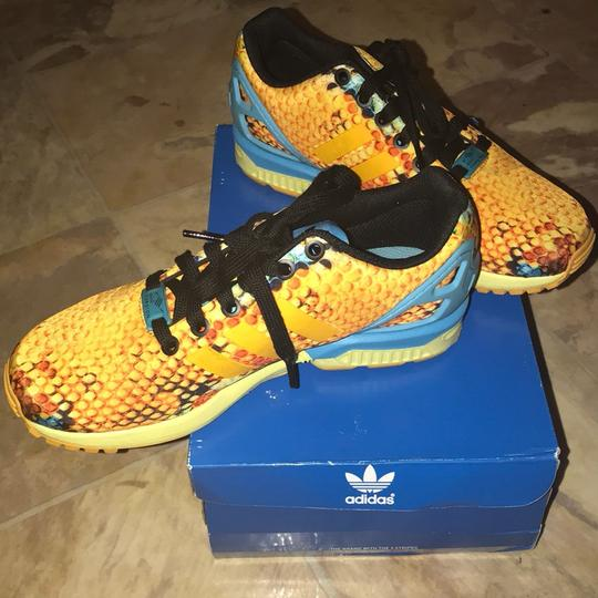 adidas orange and blue Athletic