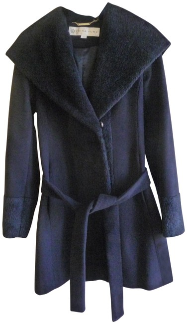 Preload https://item1.tradesy.com/images/trina-turk-blue-navy-wool-belted-size-2-xs-23008035-0-1.jpg?width=400&height=650