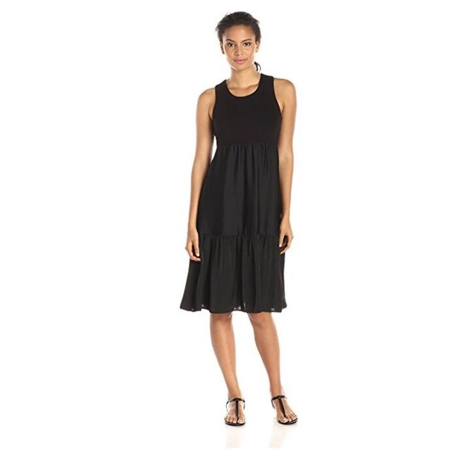 Preload https://img-static.tradesy.com/item/23008151/bcbgmaxazria-black-lynsey-knit-stop-tiered-skirt-mid-length-night-out-dress-size-0-xs-0-0-650-650.jpg