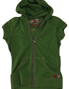 Preload https://item2.tradesy.com/images/twisted-heart-green-activewear-hoodie-size-12-l-23008171-0-1.jpg?width=400&height=650