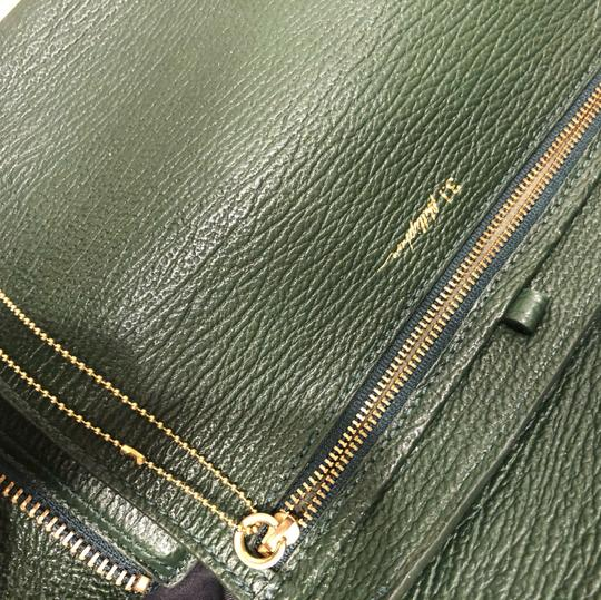 3.1 Phillip Lim Leather Satchel in Green