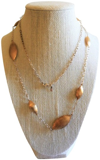Preload https://item1.tradesy.com/images/gold-over-silver-necklace-23008245-0-1.jpg?width=440&height=440
