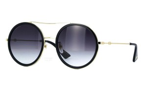 Gucci Extra Large Retro Round Style GG 0061S 001 - FREE 3 DAY SHIPPING Retro