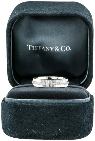 Preload https://item2.tradesy.com/images/tiffany-and-co-white-gold-diamond-t-two-narrow-ring-23008301-0-1.jpg?width=440&height=440