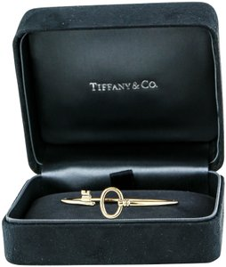 Tiffany & Co. Tiffany & Co Key Wire Gold Bracelet
