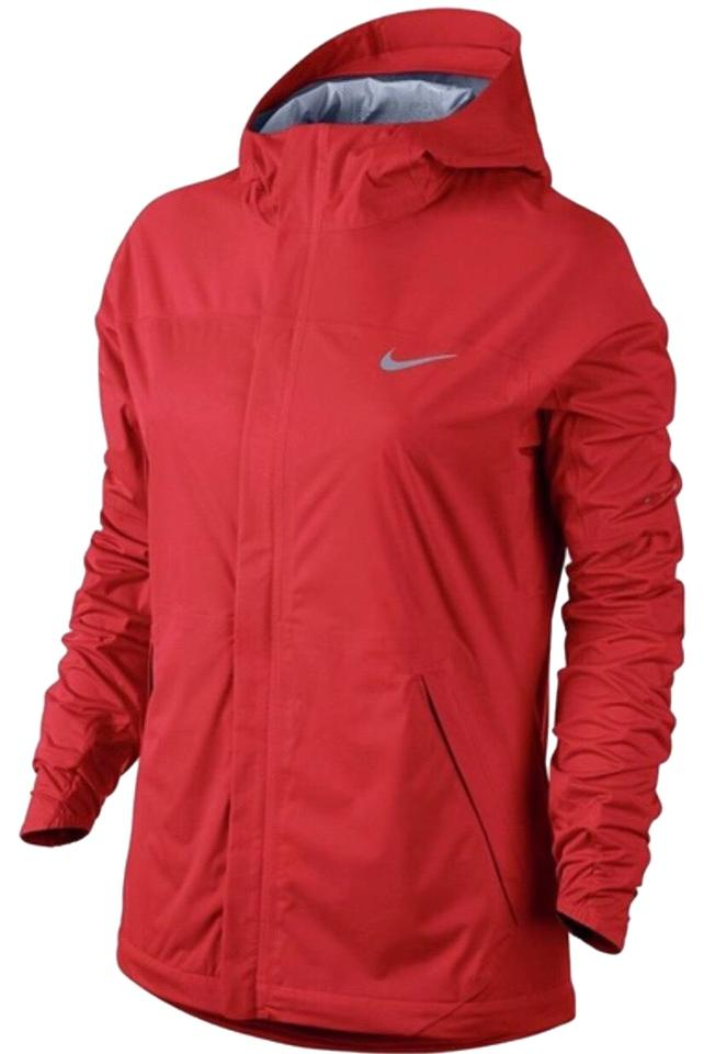 d10ae4667207 Nike Red New Shieldrunner Water Windproof Jacket Size 12 (L) - Tradesy