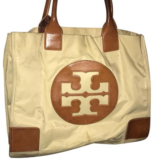 Preload https://item3.tradesy.com/images/tory-burch-tan-and-brown-tote-23008327-0-1.jpg?width=440&height=440