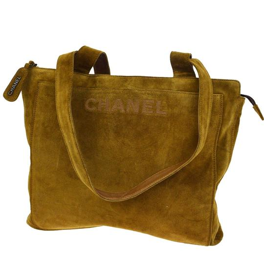 Preload https://item3.tradesy.com/images/chanel-timeless-light-brown-suede-leather-tote-23008462-0-0.jpg?width=440&height=440