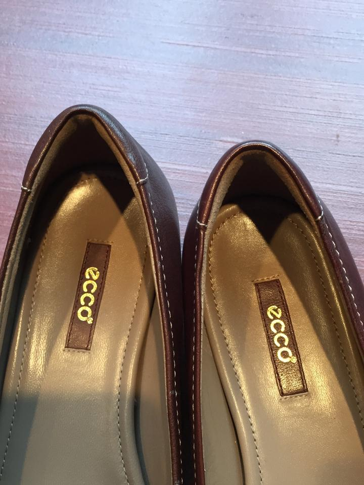 8e83be5d085f Ecco Brown Almost New Flats Size EU 40 (Approx. US 10) Regular (M