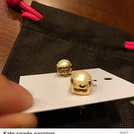 Kate Spade Kate spade earrings new with tag and pouch