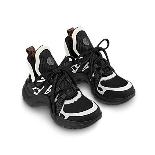 Louis Vuitton Trainer Sneaker Archlight Runway Classic black Athletic Image 2