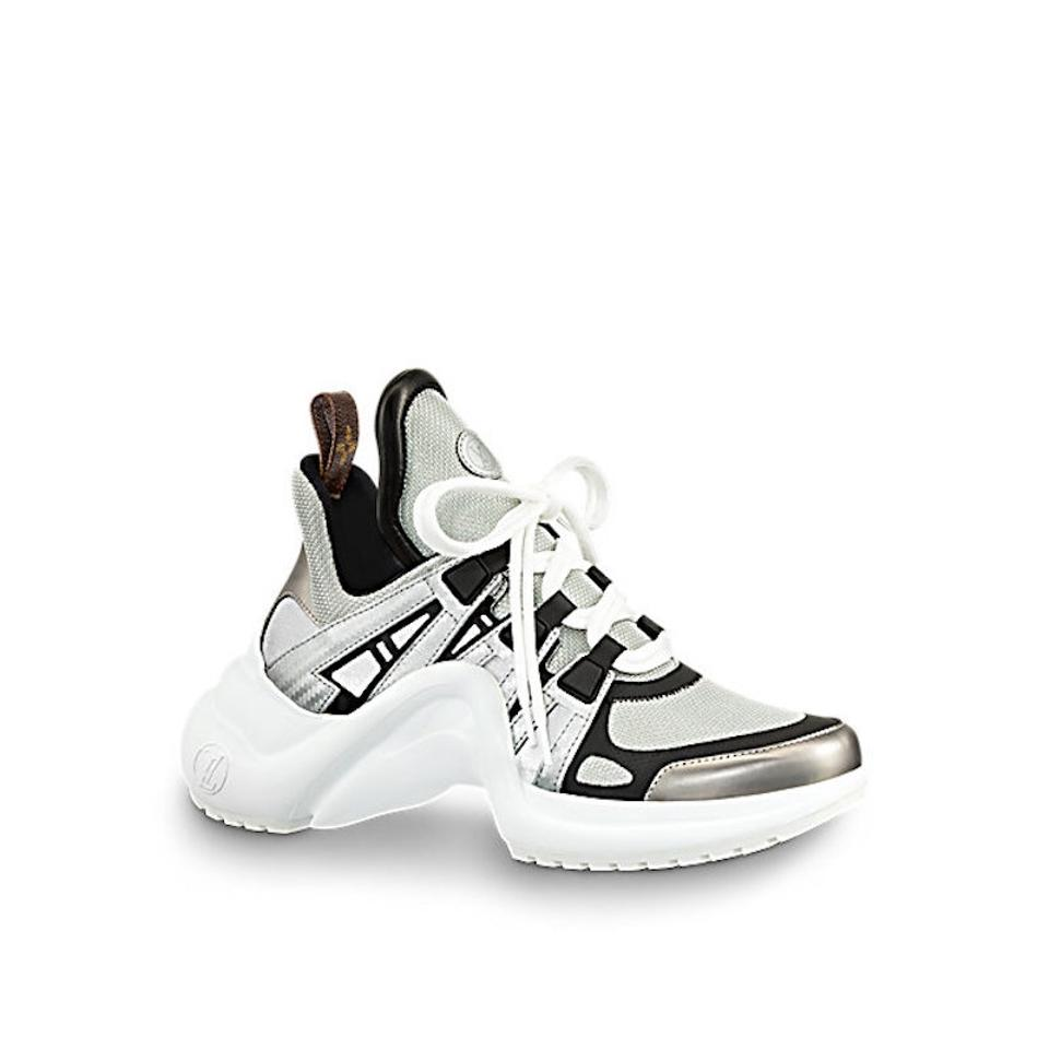 ad89a535fdc0 Louis Vuitton Trainer Sneaker Archlight Runway Classic silver Athletic  Image 0 ...