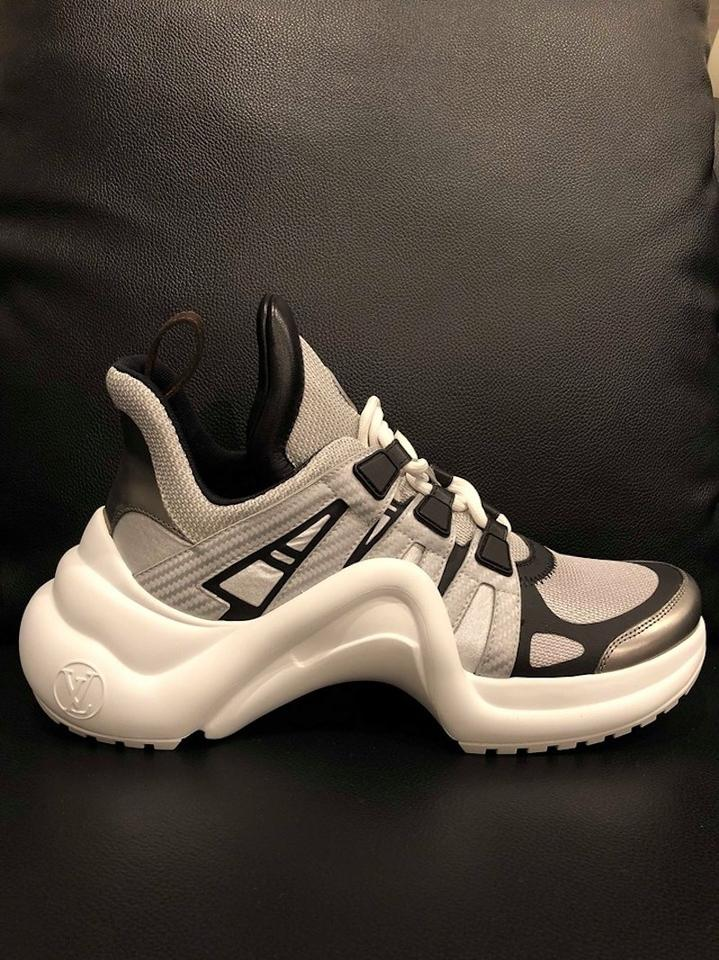 869c2594b Louis Vuitton Trainer Sneaker Archlight Runway Classic silver Athletic  Image 11. 123456789101112