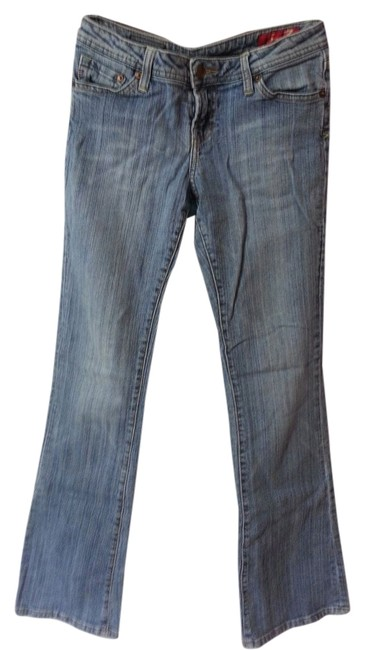 Seven Jeans Boot Cut Jeans-Light Wash