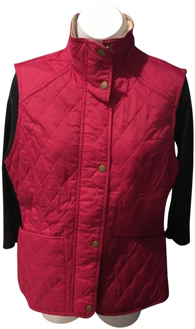 Preload https://item3.tradesy.com/images/barbour-pink-quilted-vest-size-8-m-23008672-0-2.jpg?width=400&height=650
