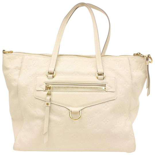 Preload https://item2.tradesy.com/images/louis-vuitton-lumineuse-shoulder-865988-whites-coated-canvas-tote-23008766-0-1.jpg?width=440&height=440