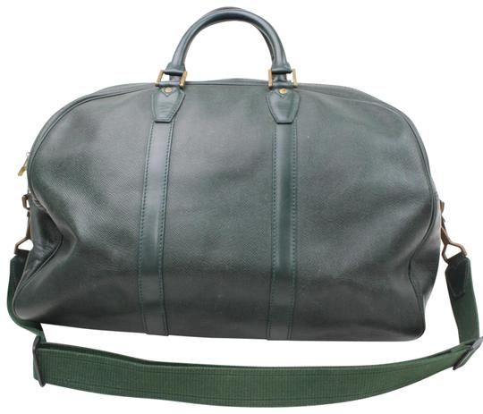 Preload https://item1.tradesy.com/images/louis-vuitton-kendall-pm-865993-green-leather-weekendtravel-bag-23008790-0-1.jpg?width=440&height=440