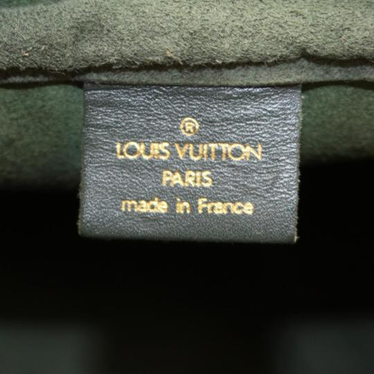 Louis Vuitton Epi Keepall Keepall Bandouliere Damier Keepall Taiga Luggage Rolling Luggage Green Travel Bag
