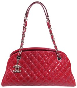Chanel Vernis Bowling Mademoiselle Shoulder Bag