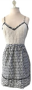 Urban Outfitters short dress grey Staring At Stars Mini Ikat Medium on Tradesy